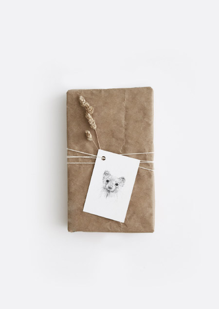 Animals gift tags